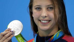 Another Silver for USA's Kathleen Baker